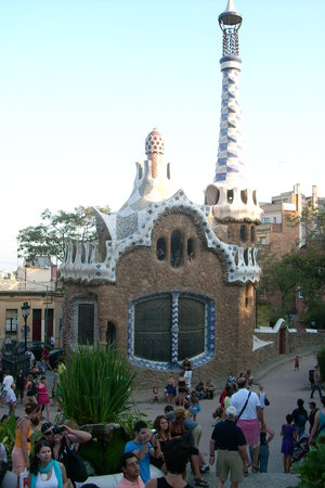 Province of Barcelona, Spain: Parc Guell