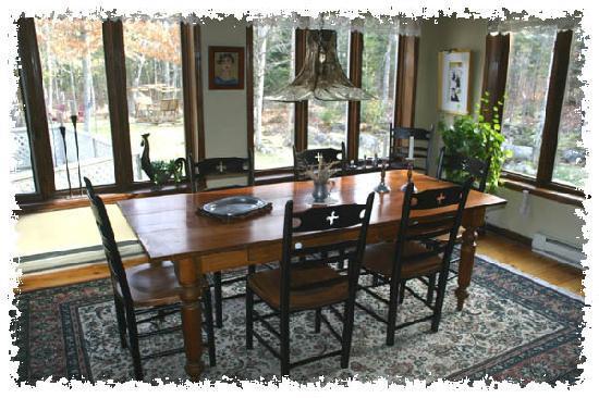 Aux Dormants du Boise: Salle à dîner