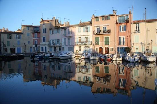 Martigues, France : le port