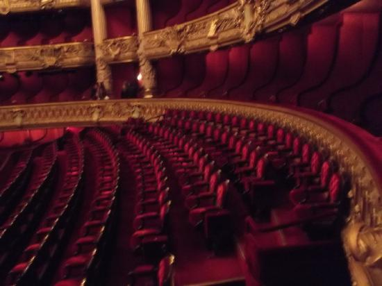 Palais Garnier: Seating area