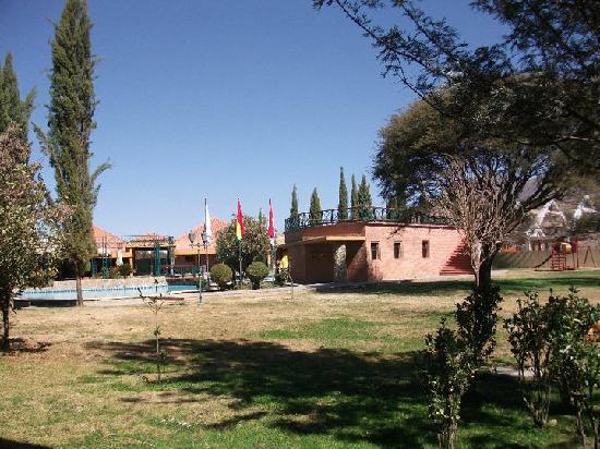 Hotel Los Parrales: Acceso a la terraza