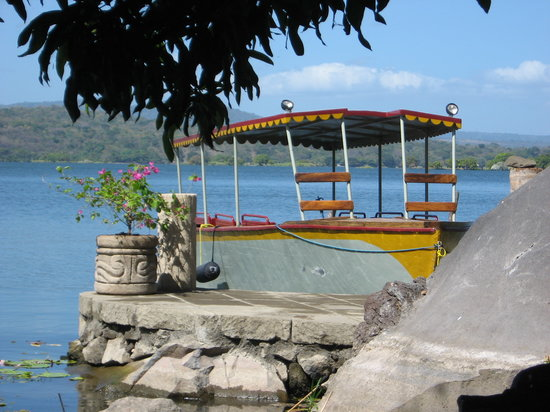 NicarAgua Dulce: Covered boat option