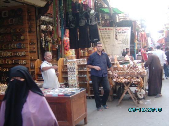 Kairo, Egypt: il mercato a Il Cairo
