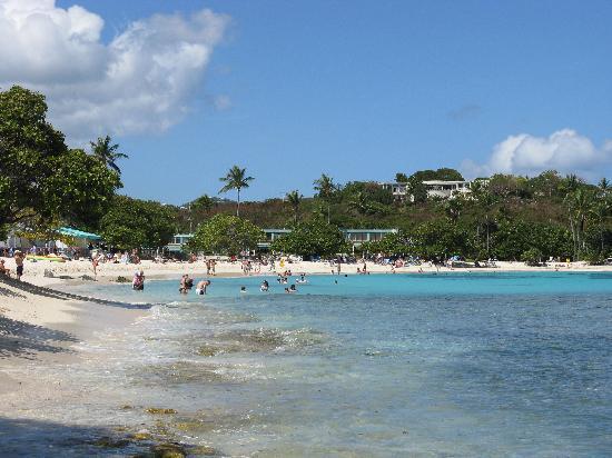 Sapphire Beach Resort: The beach