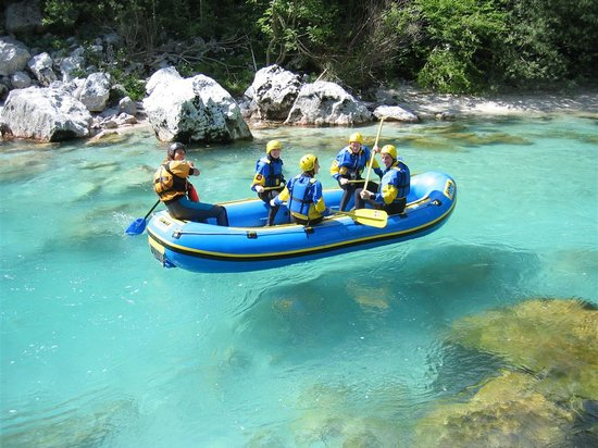 Emerald River Adventure: emerald and crystal clear Soca river