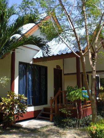 Andaman Resort: Bungalow von außen