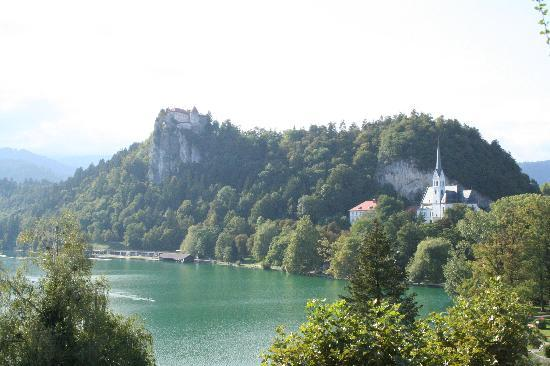 Park Hotel Bled: view from hotel room