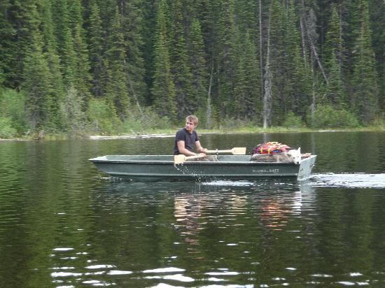 Meadow Lake Fishing Camp: On Colin Lake