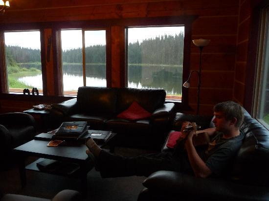 Meadow Lake Fishing Camp: In the lodge