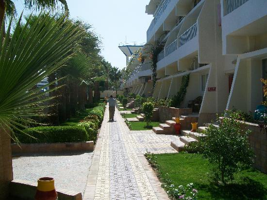 Triton Empire Beach Resort: Gardens