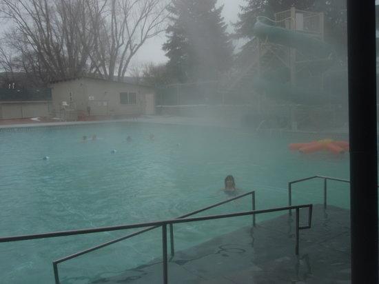 Downata Hot Springs: large pool for swimming