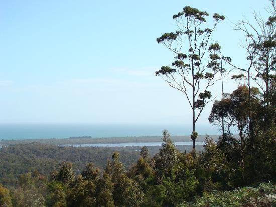 Freycinet Eco Retreat: View from our deck