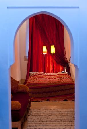 Dar Malak: Vue de la chambre