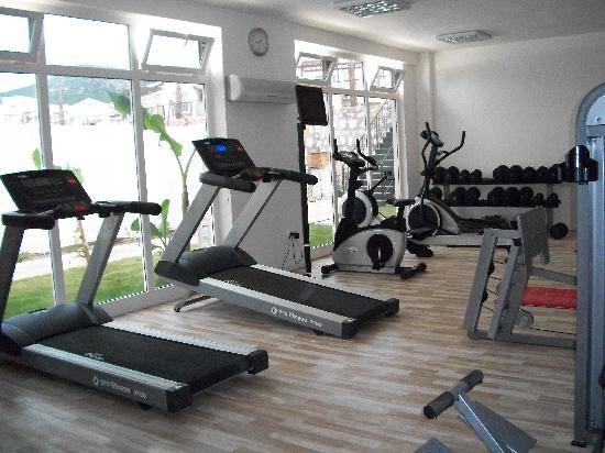 CLC Apollonium Spa & Beach: the gym