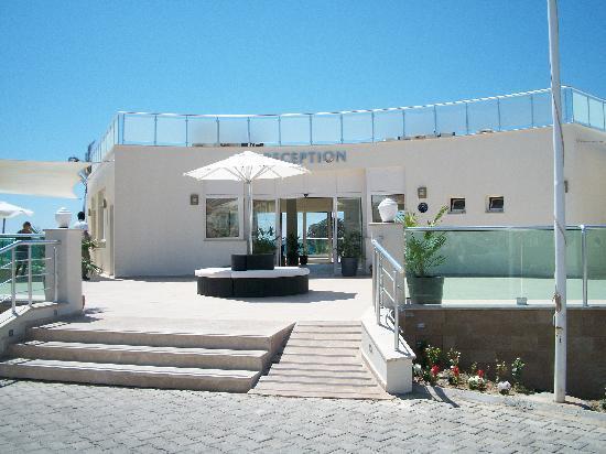 CLC Apollonium Spa & Beach : Reception entrance