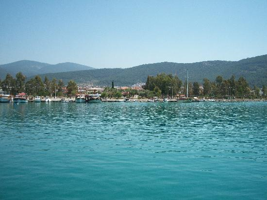 Milas, Turkey: view from the marina in nearby Akbuk