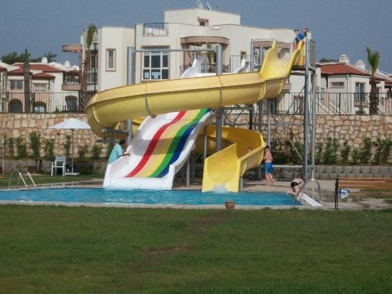 Milas, Turkey: aqua slides