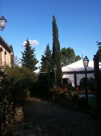 La Ciminiera Country House : giardino