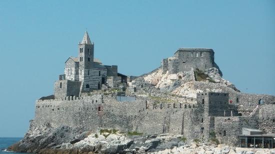Porto Venere, İtalya: Chiesa e Castello
