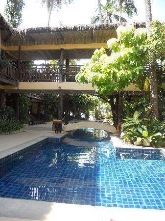 Phra Nang Inn: Stora poolen