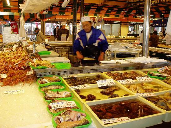 Niigata, Japón: 市場・レストラン・屋台等からなる複合施設