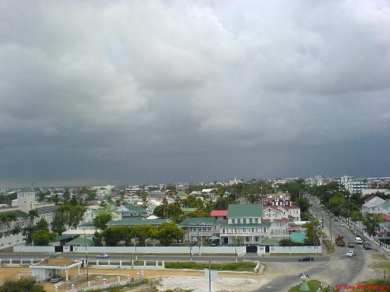 Pegasus Hotel Guyana: from my room