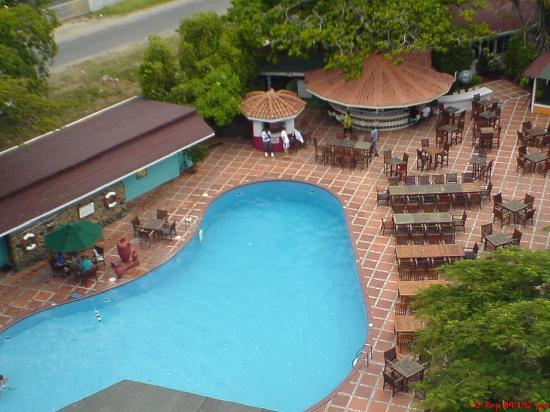 Pegasus Hotel Guyana: Pool - from my room