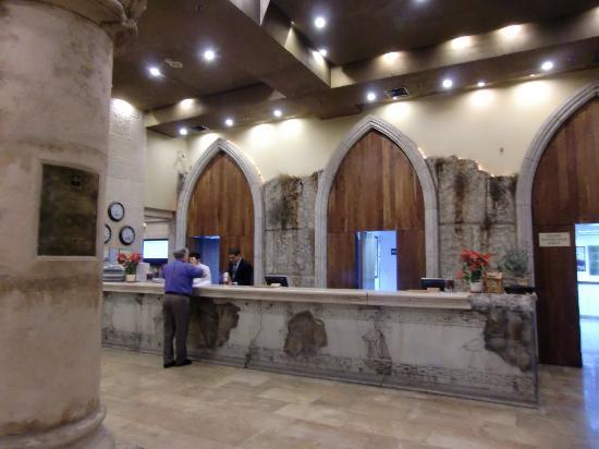 Olive Tree Hotel Lobby