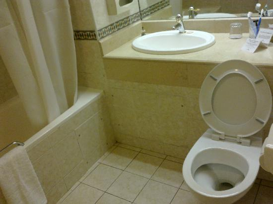 Monomotapa Hotel- Legacy : clean toilets