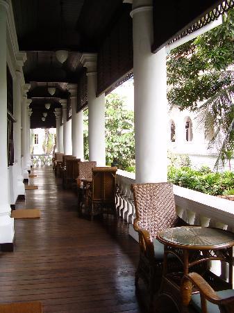 Raffles Hotel Singapore: second floor