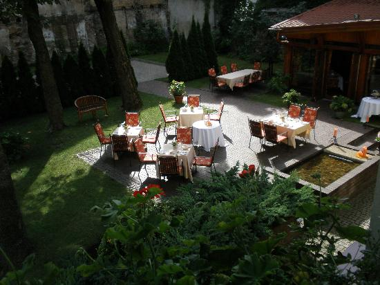 Grotthuss Hotel: вид из нашего окна