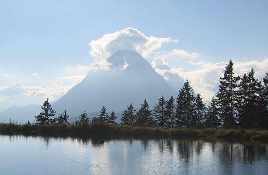 Seefeld in Tirol, Austria: Kaltwassersee in Seefeld Rosshütte