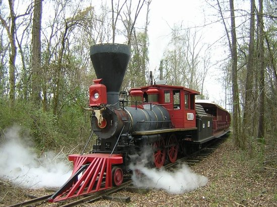 Jefferson, TX: Live Steam train