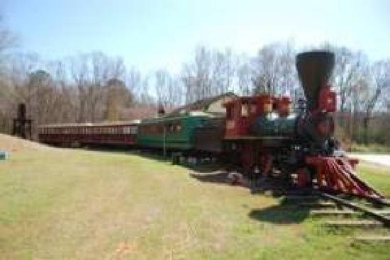 Historic Jefferson Railway: Our train