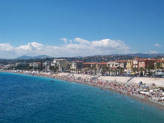 Nizza, Francia: Vista su Promenade des anglais