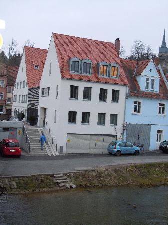 Tandem Hotel: Hotel Tandem..am Eingang zur bekannten Sandstraße..