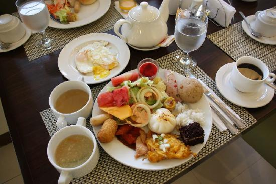 Mandaue, Filipinas: breakfast