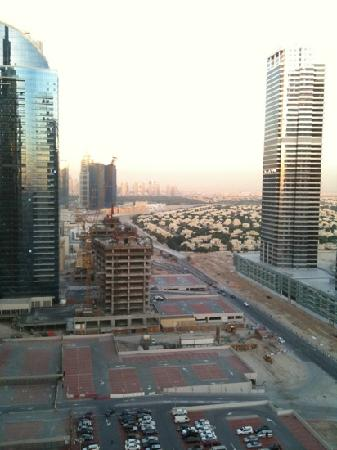 Bonnington Jumeirah Lakes Towers : view from the room.