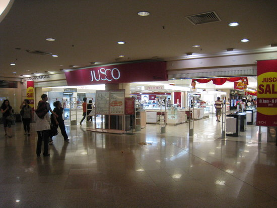 Mid Valley Megamall: JUSCOです