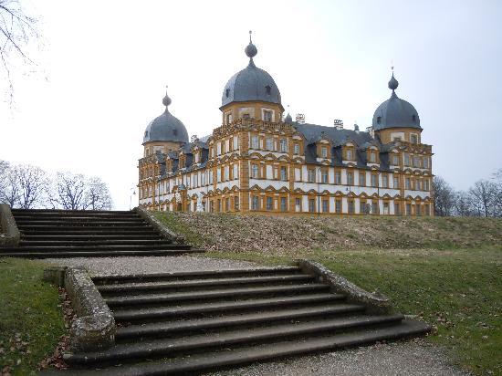 Schloss Seehof: Schloß Seehof .imposanter Bau von Baltahasar Neumann