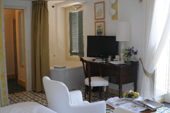 Santa Caterina Hotel: La camera con vasca iacuzzi