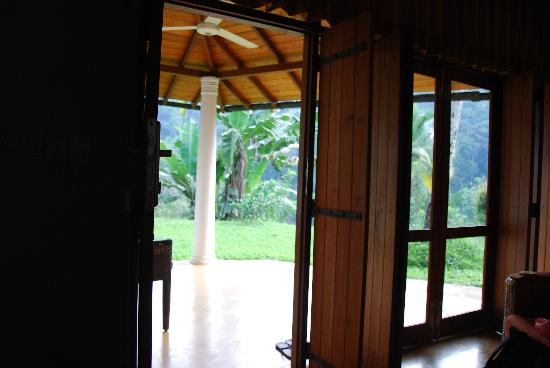 Athulya Villas: View from the room