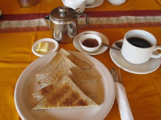 Afia Beach Hotel: leichtes Frühstück