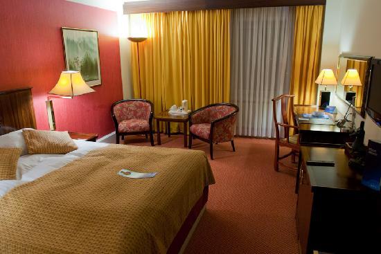Radisson Blu Scandinavia Hotel, Aarhus: Radisson Room as I found it...