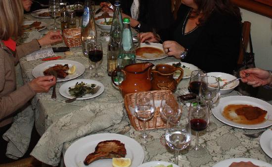 Ovindoli, Italia: La tavola quotidiana