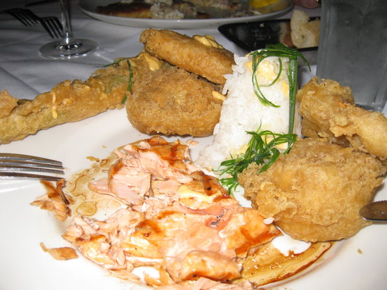Landry's Seafood: The appalling meal at Landry's