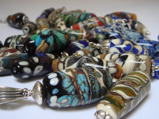 Derryaun Crafts: hand made glass beads by Suzie Sullivan