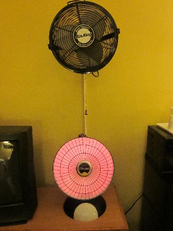 Travelodge San Francisco Central: Here is the sophisticated heating and cooling system in the rooms
