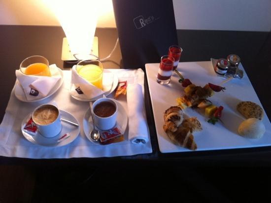 Red's Redaelli Hotel: colazione in camera