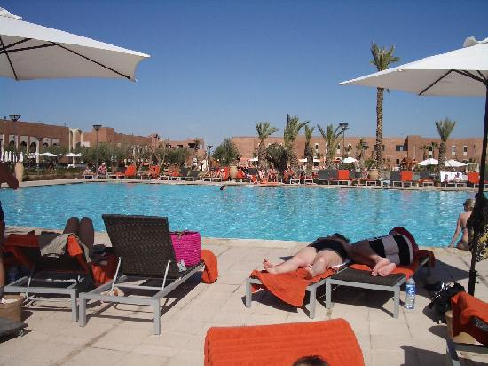 "Kenzi Club Agdal Medina: piscine ""chauffée"""